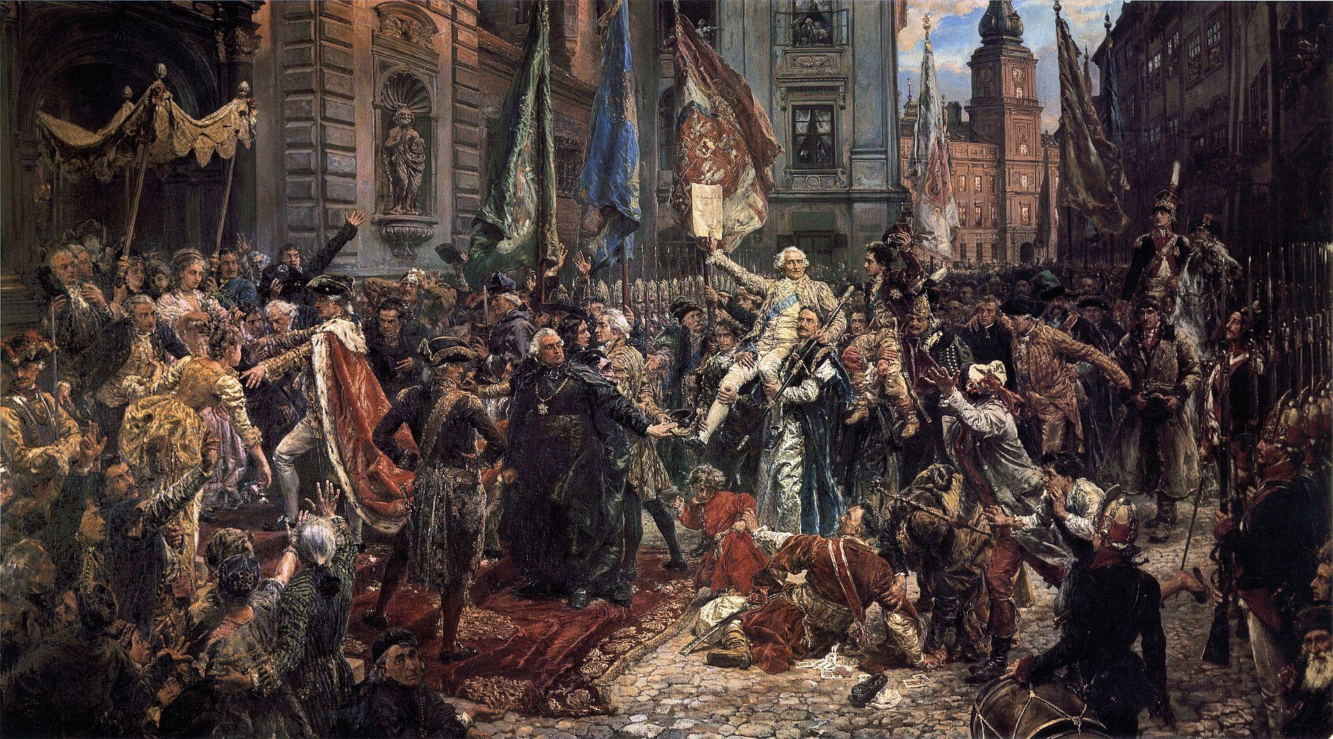 """Zgłoszenia dokonkursu """"Konstytucja 3 Maja – Czasy Stanisławowskie"""""""