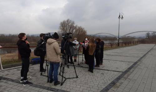 20210325 101052 konferencja Nowy Sącz gminy górskie